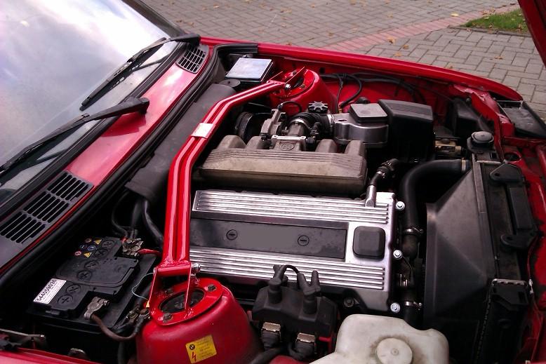 Wiechers Stahl Fahrwerkstrebe hinten für Renault Megane 2 CC 2,0l Turbo Bj.ab 20