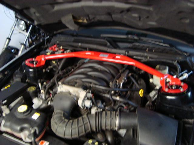 Wiechers 167038 Domstrebe Alu Racingline vorne oben für Ford Mustang 4,0l V6